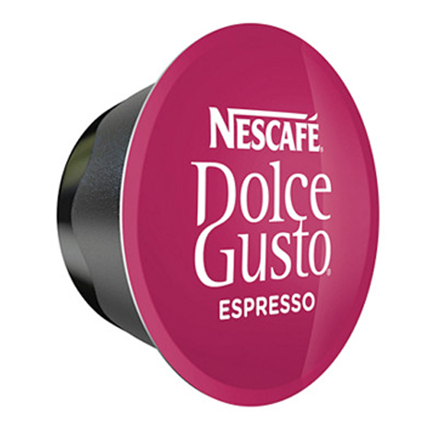 Nescafe Espresso for Dolce Gusto Machine Capsules Makes 48 Cups of Coffee.