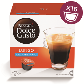 Nescafe Caffe lungo for Nescafe Dolce Gusto Machine Ref 12019900.