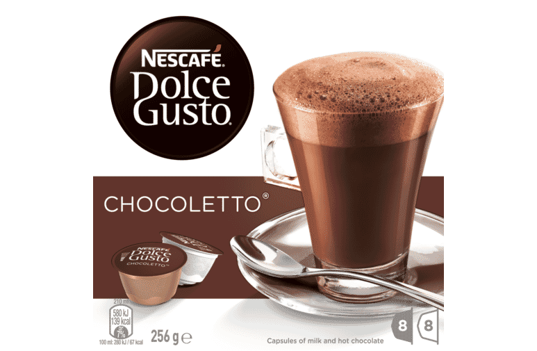 Nescafe Dolce Gusto 12317424 Chocoletto Pods at The Good Guys.