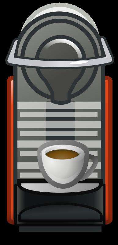 Free Clipart: Coffee machine.