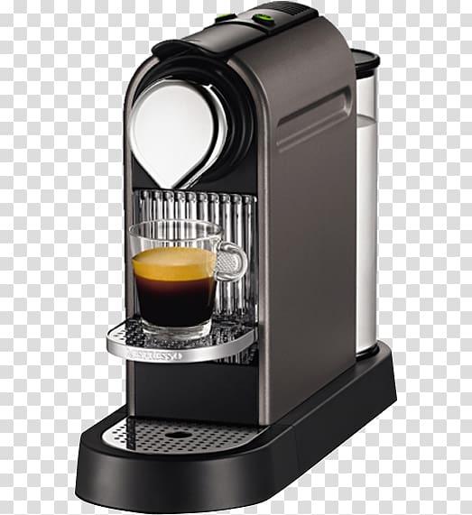 Coffee Nespresso Krups Espresso Machines, Coffee transparent.