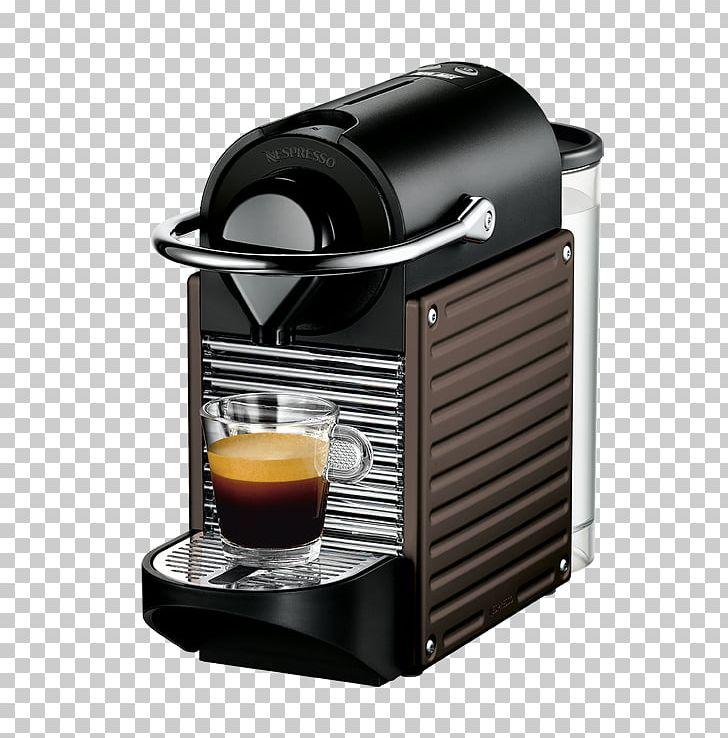 Coffeemaker Krups Nespresso Pixie Espresso Machines PNG.