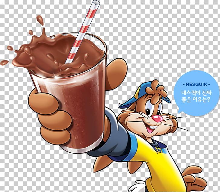 Cartoon Food Finger, nesquik PNG clipart.