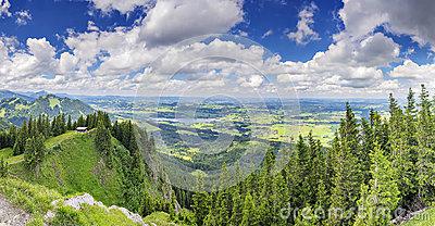 Alpspitze Stock Photography.