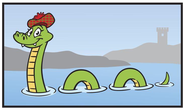 Nessie clipart.