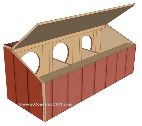 Chicken Coop Nest Box Plans.