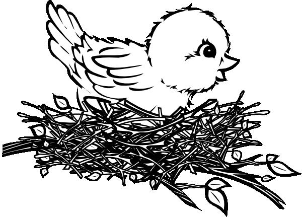 Eagle Nest Clipart.