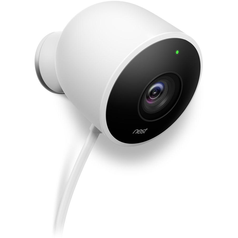 Google Nest Cam Outdoor Security Camera.