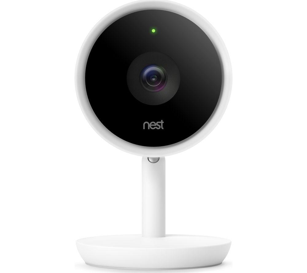 NEST Cam IQ Indoor Security Camera.