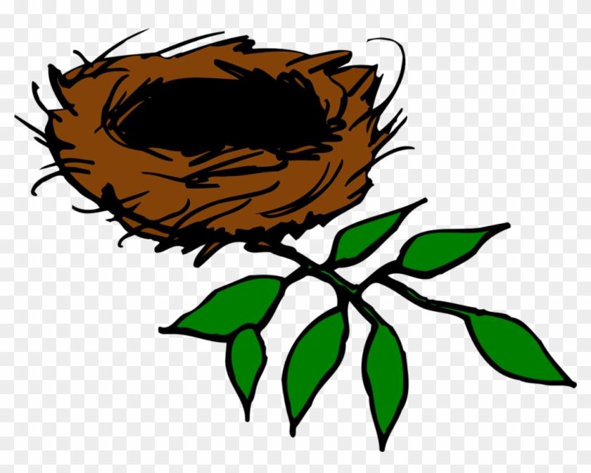 Nest Clipart Tree Vector.