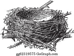 Bird Nest Clip Art.
