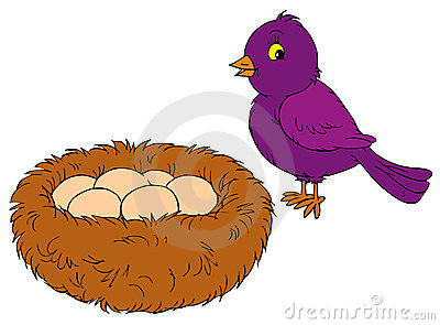 Nest Clip Art Stock Photos, Images, & Pictures.