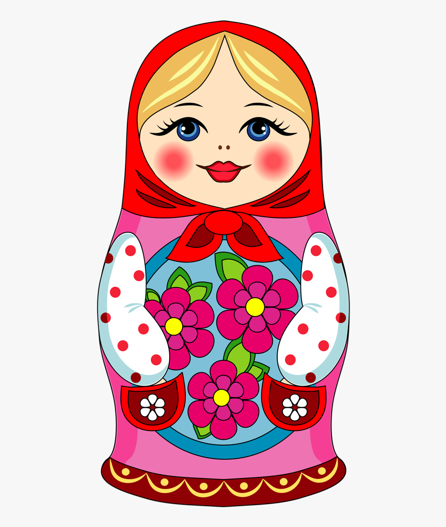 Matryoshka Doll Cartoon , Transparent Cartoon, Free Cliparts.