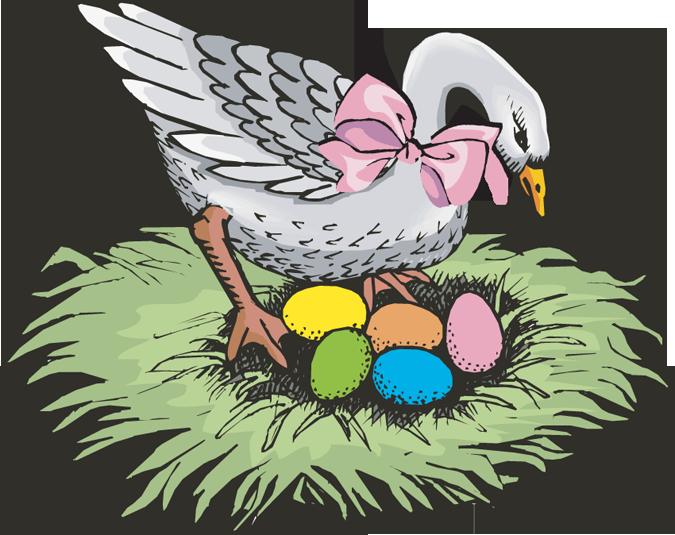 Owl Nest Clipart.