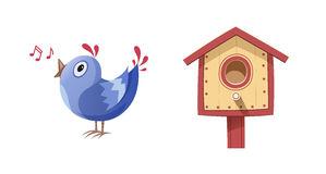 Nesting Place Stock Illustrations.