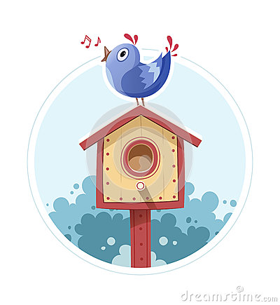 Nesting Place Stock Illustrations.
