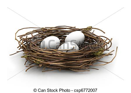 Nesting sites clipart #18