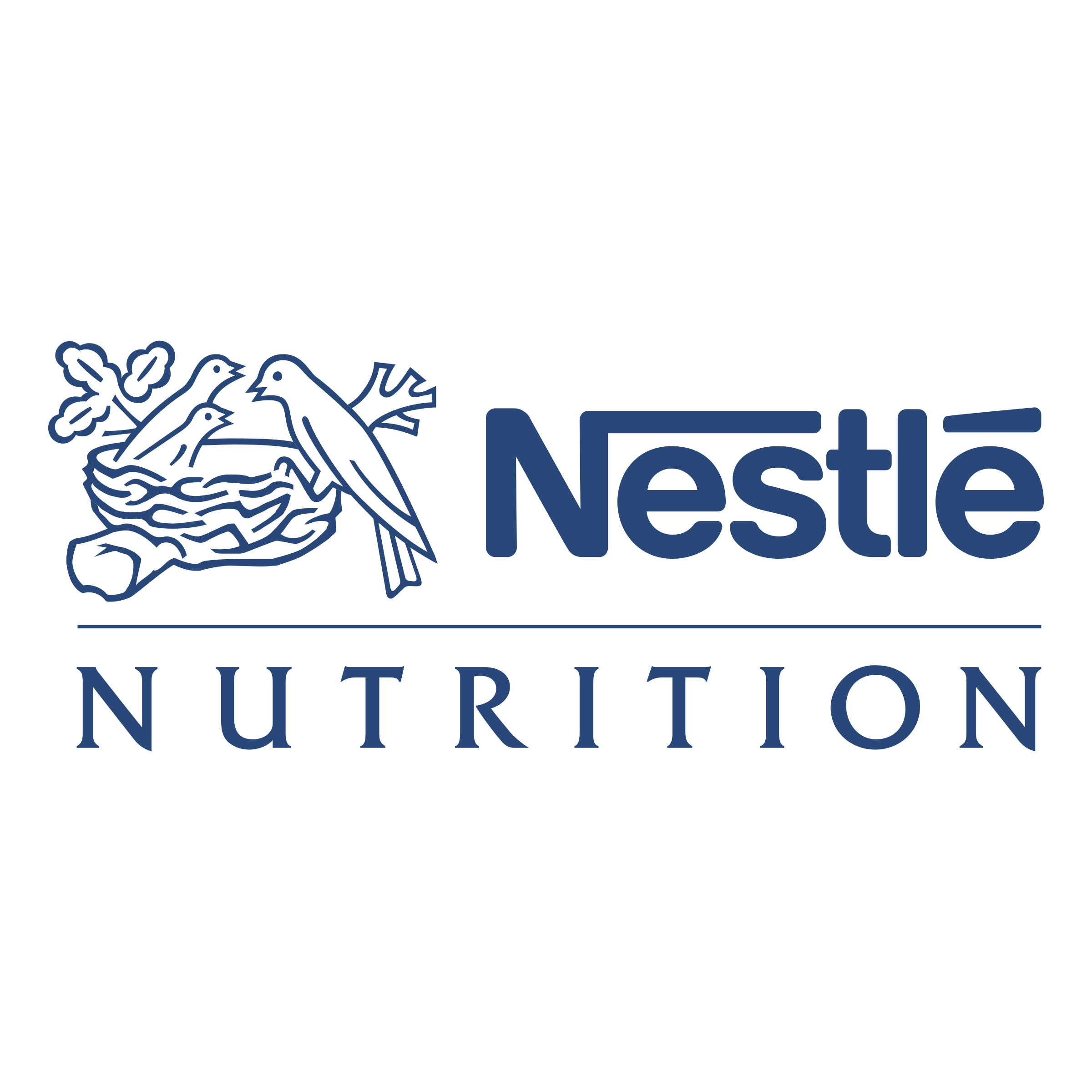 Nestle Nutrition Logo PNG Transparent & SVG Vector.