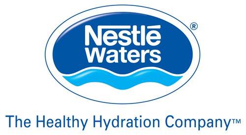 Nestlé Waters Brand Logos.