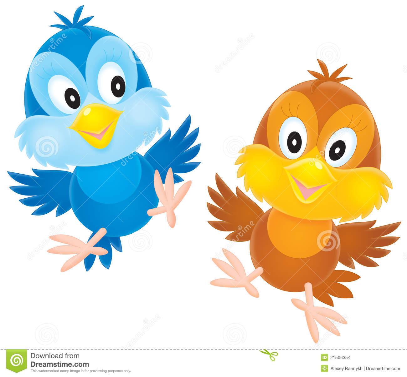 Nestlings Stock Images.
