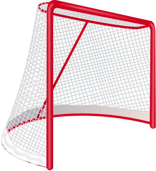 Hockey Net Clip Art.