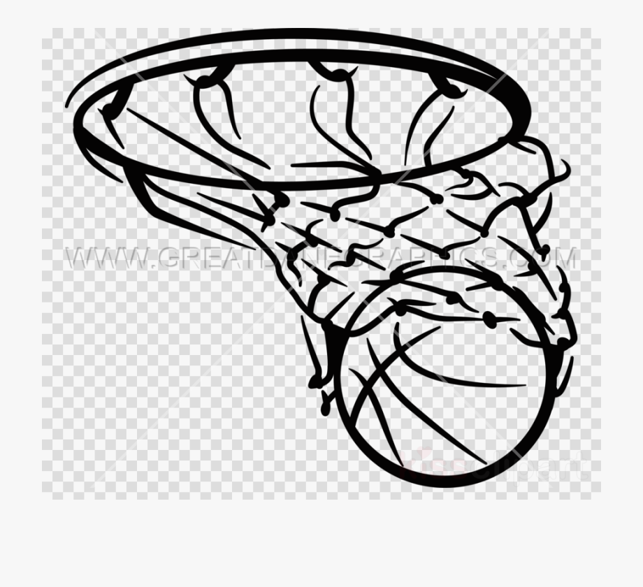Black And White Basketball Png.