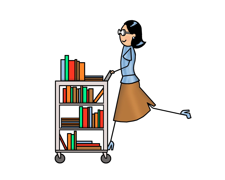 Clipart library librarian, Clipart library librarian.