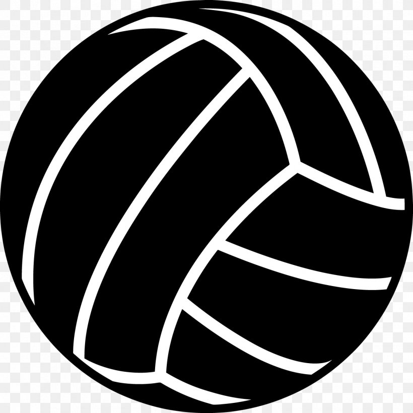 Beach Volleyball Sport Black Clip Art, PNG, 1350x1350px.