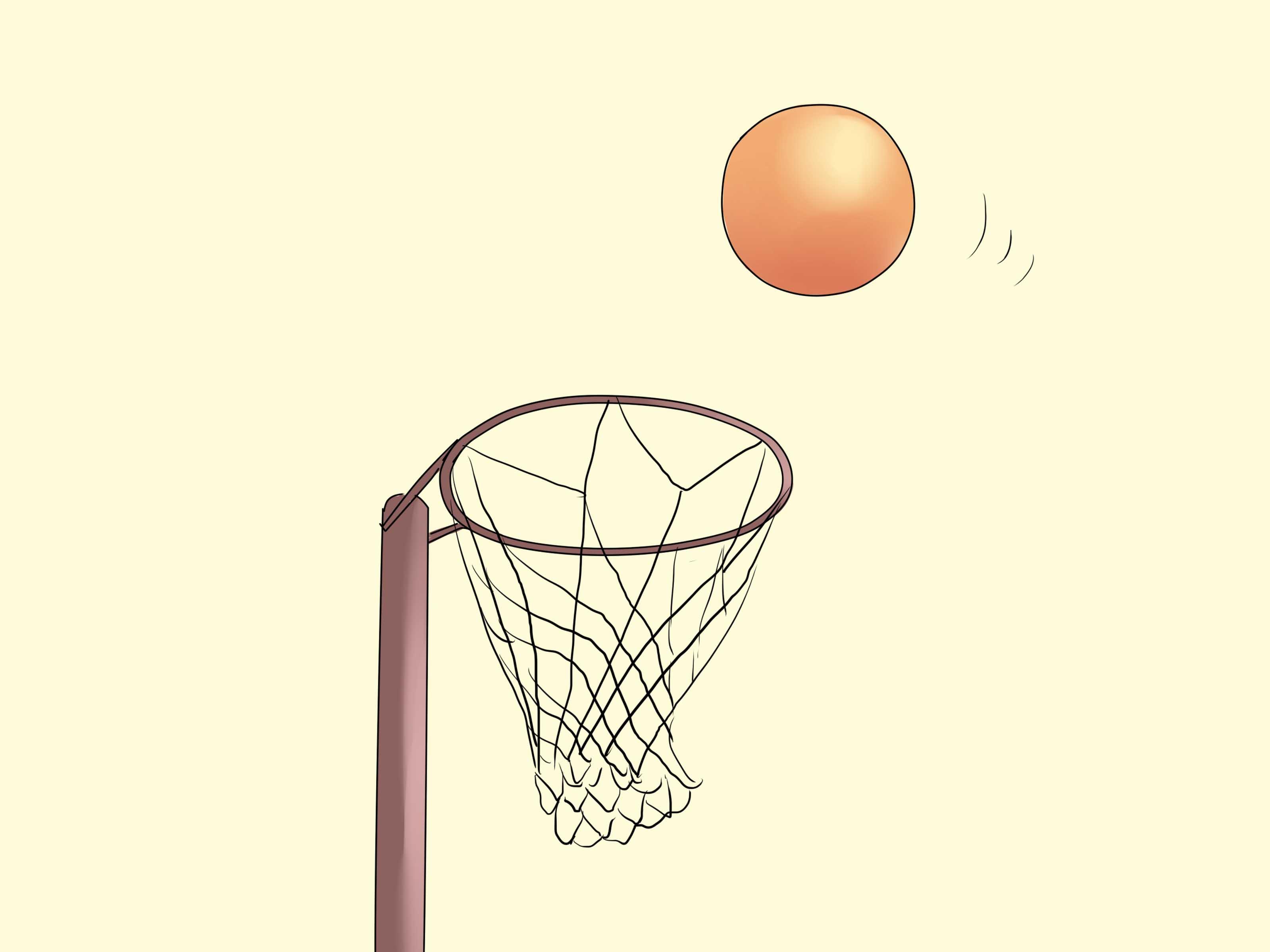 Netball court clipart.