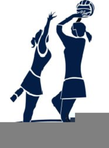 Cartoon Netball Clipart.