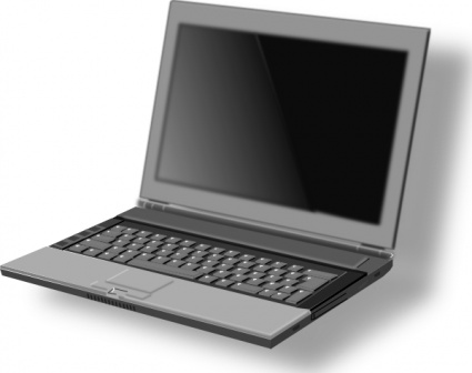 Netbook Clipart.