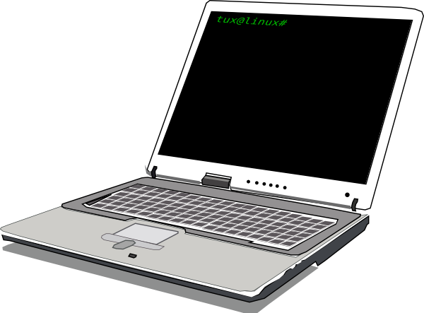 Computer Notebook Clip Art at Clker.com.