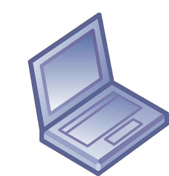 Notebook Netbook Laptop Clip Art at Clker.com.