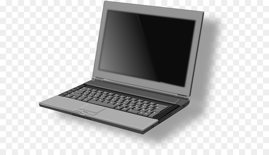 Laptop Netbook Clip Art.