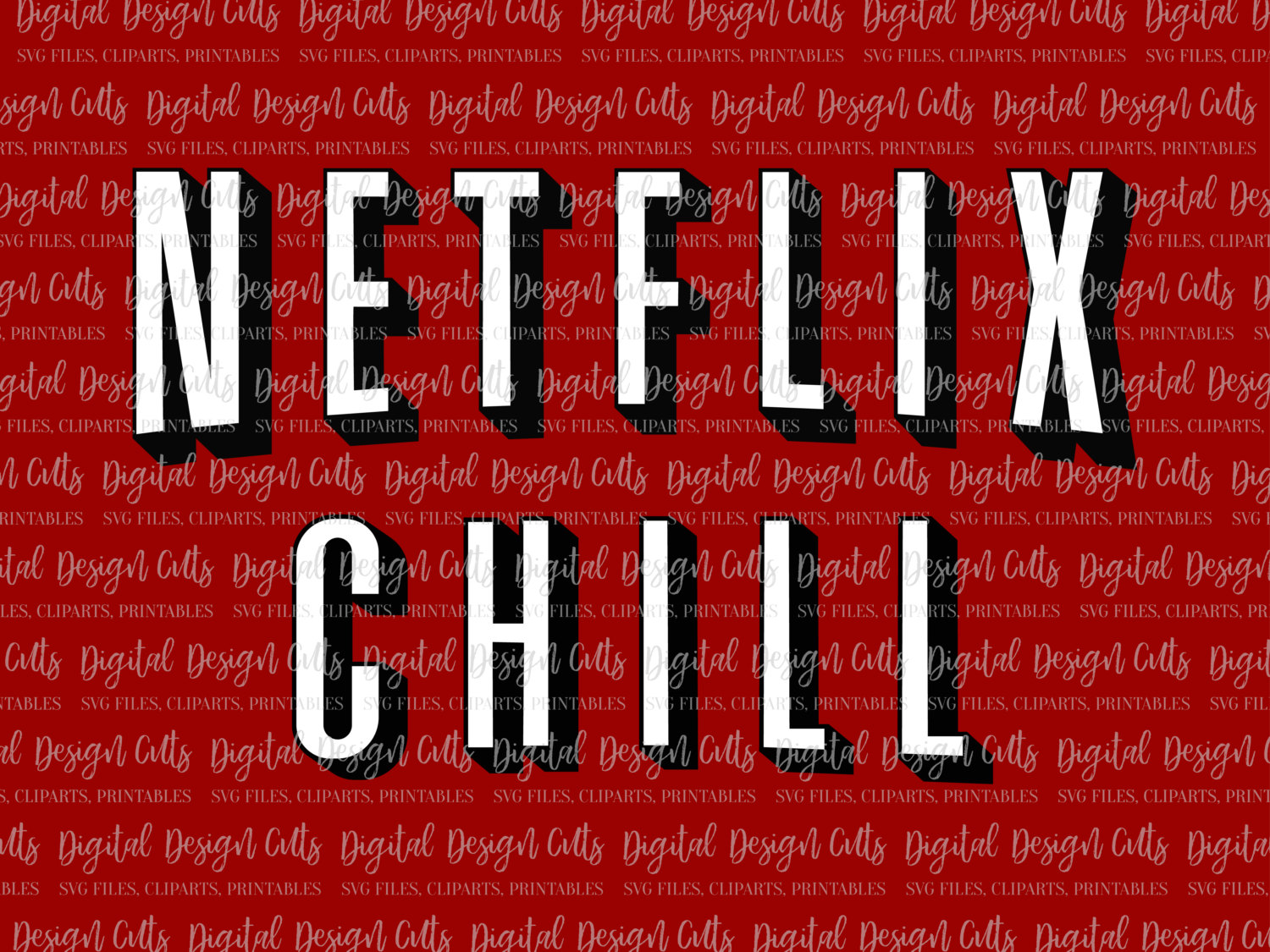 Netflix And Chill Clipart.