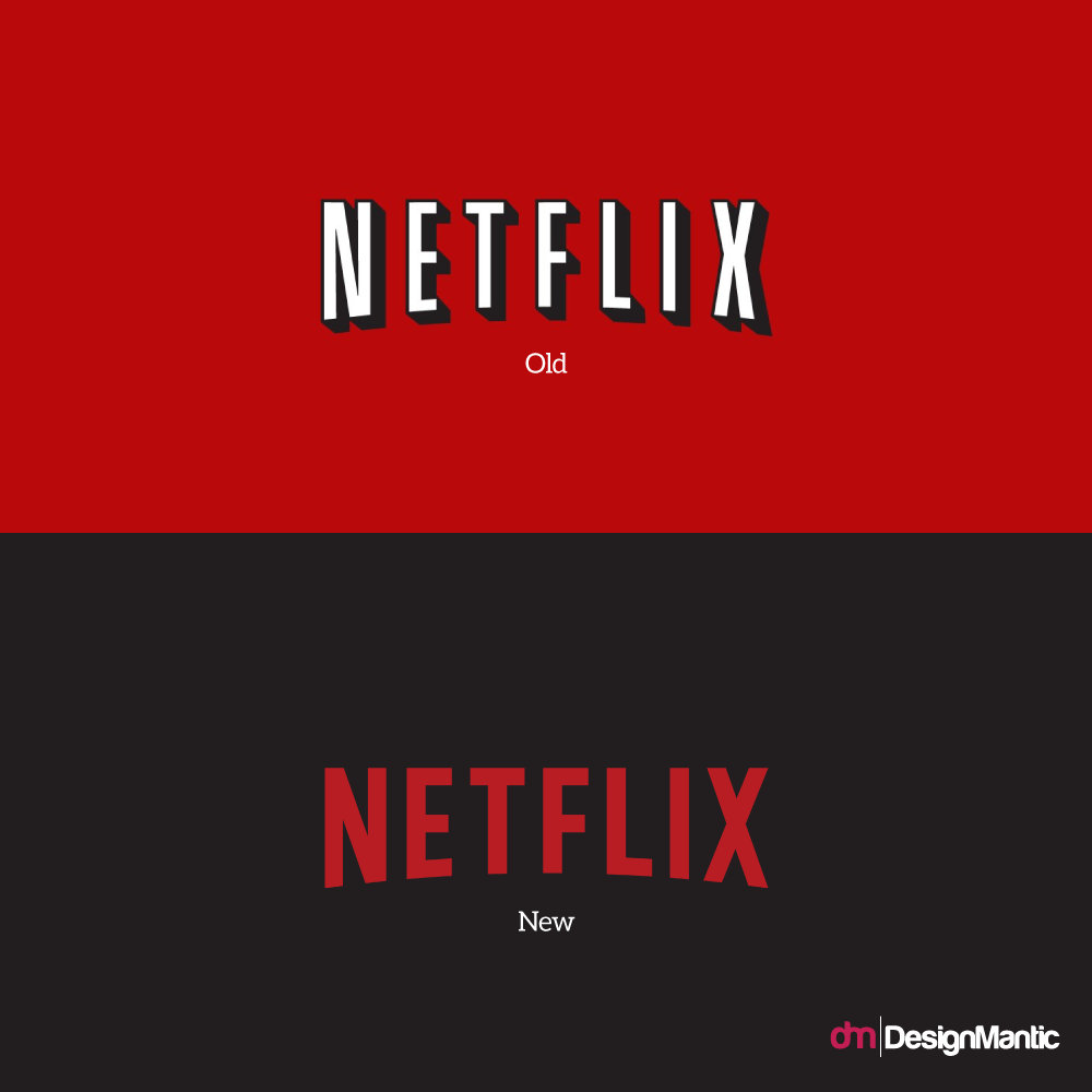 Netflix Revamps Its Logo.