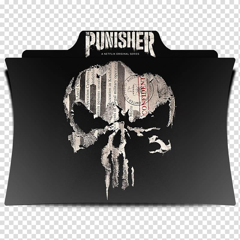 The Punisher Series Folder Icon , S [] transparent.