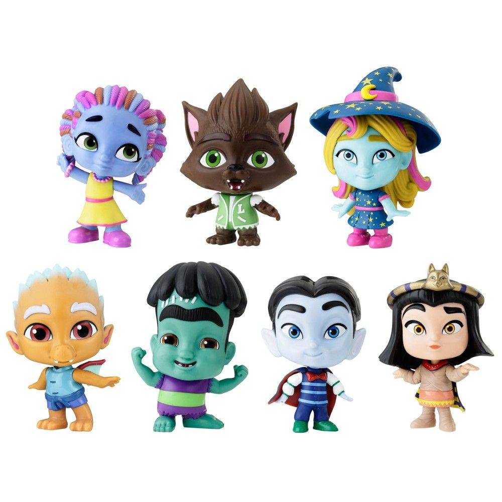 Netflix Super Monsters Figures Monsters 7pk in 2019.