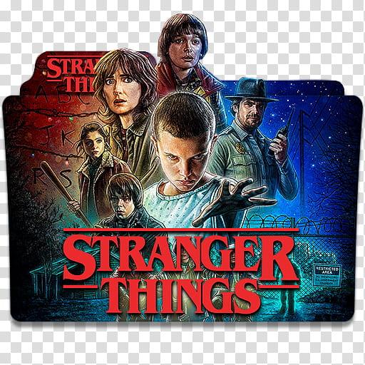 Netflix TV Series Folder Icon , stranger, Stranger Things.