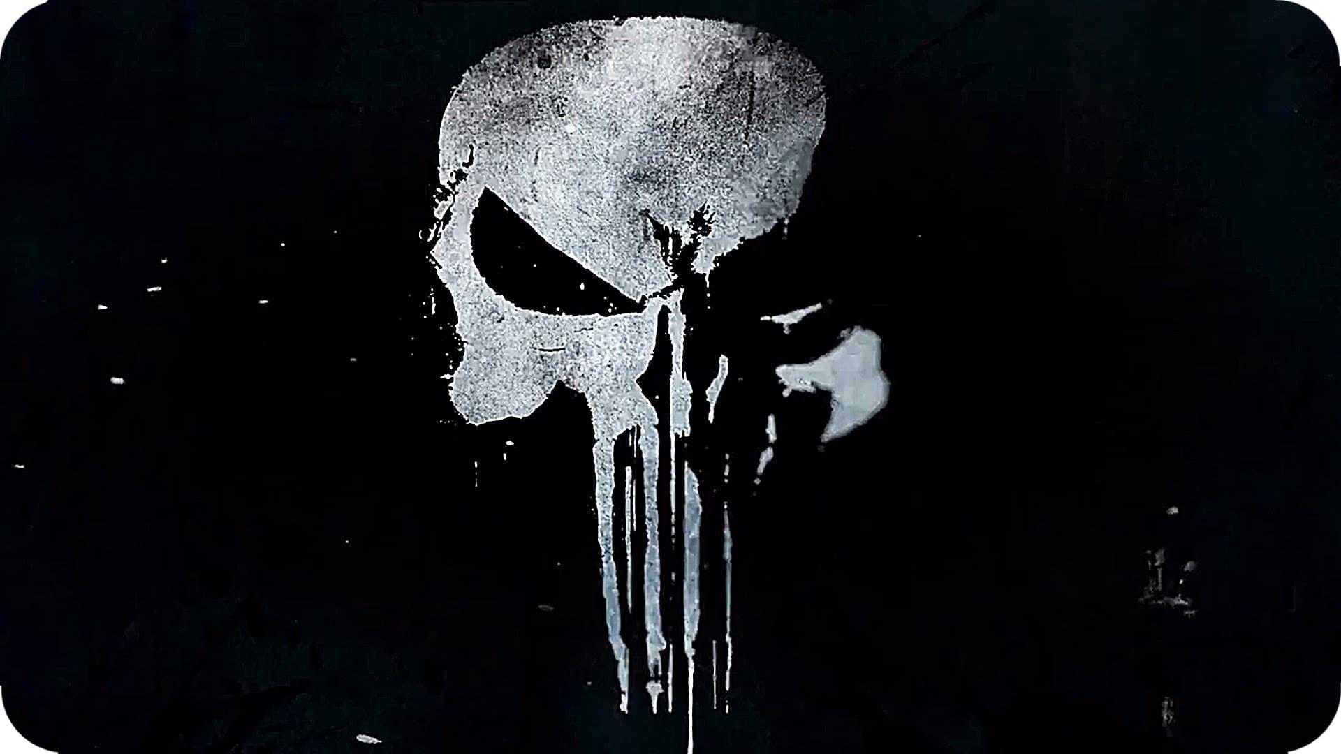 Netflix\'s Punisher logo. Image: Netflix.