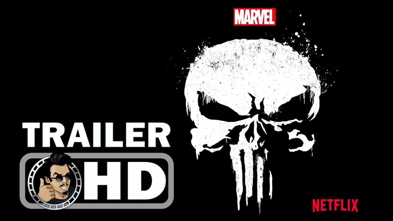 THE PUNISHER Official Logo Teaser Trailer (2017) Marvel Netflix Series.
