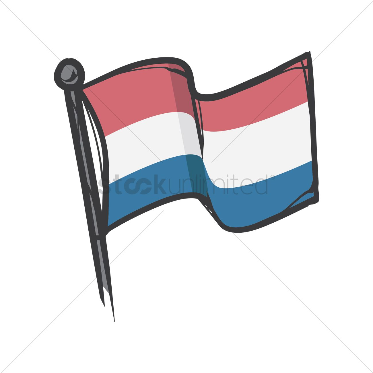 Netherlands flag clipart 3 » Clipart Station.