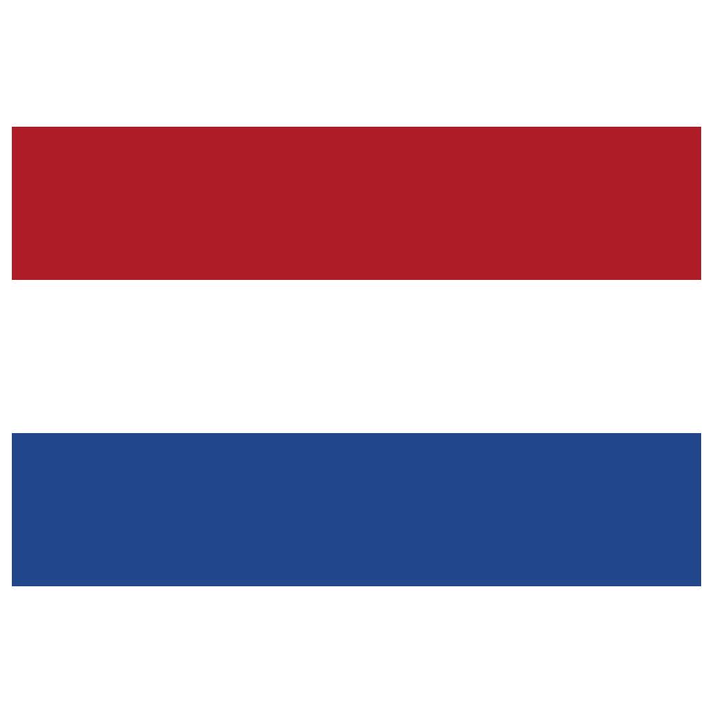 NL Netherlands Flag Icon.