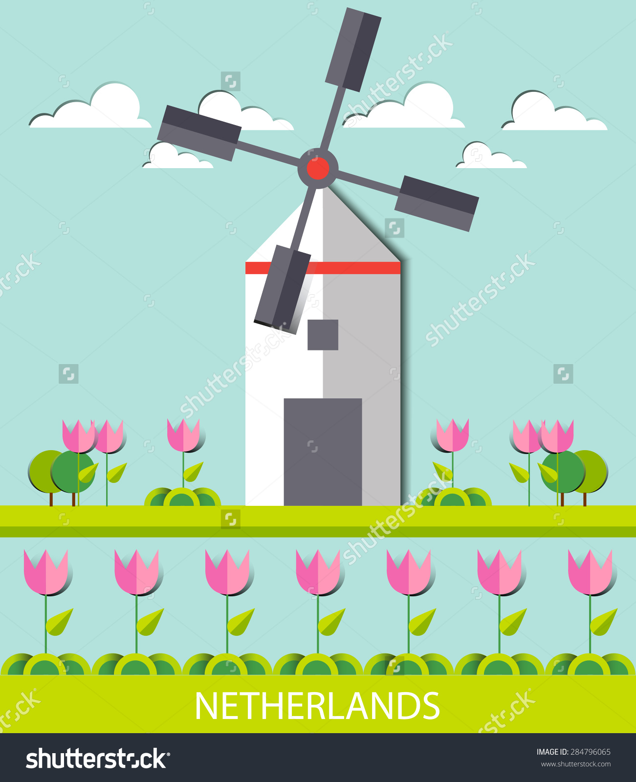 Netherlands Landscape, Amsterdam, Windmill, Destination, Travel.