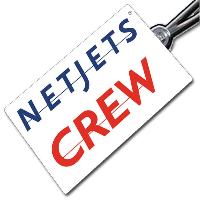 Netjets logo Tag.