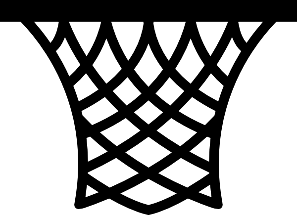 Basketball Nets Clipart.