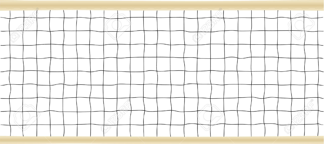 Tennis Or Volleyball Net Vector Illustration Royalty Free Cliparts.
