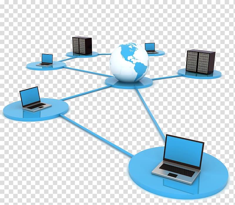 Computer network , Computer transparent background PNG.