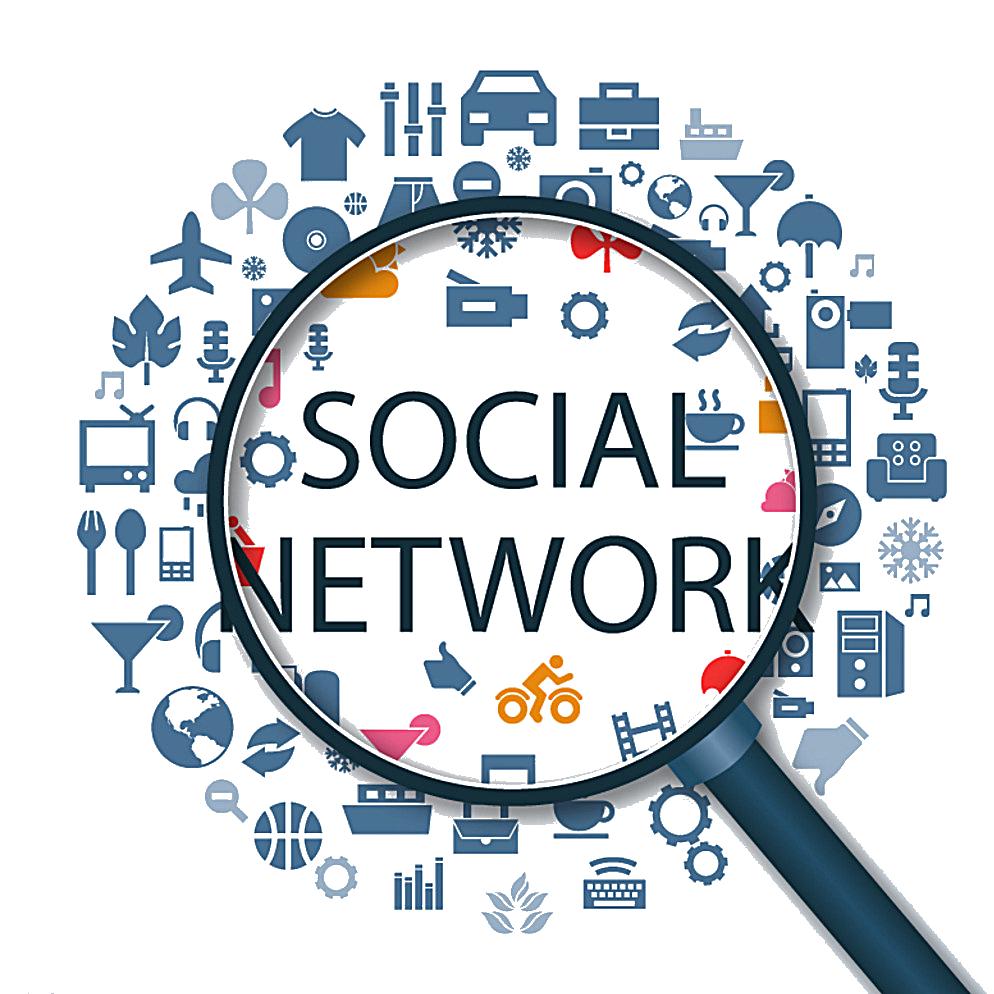 Social media Social networking service Icon.