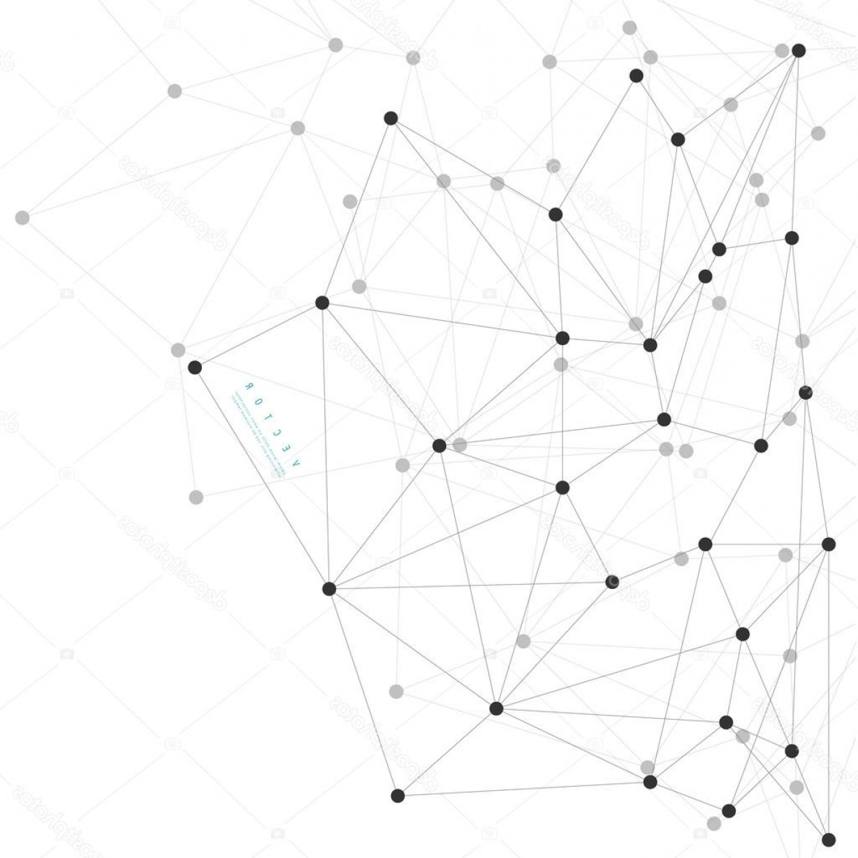 Stock Illustration Vector Network Background Abstract.